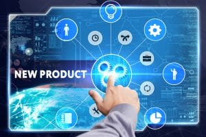 Virtual Screen Stating New Product