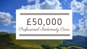 £50,000 Professional Indemnity Cover