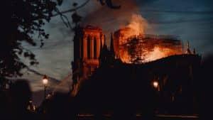 Notre Dame De Paris Fire