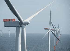 Wind Turbines in Sea