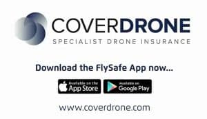 Coverdrone Logo on White Background