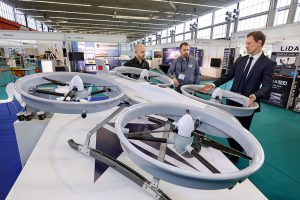 Drones At Commercial UAV Expo