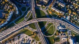 Aerial Image of Roads