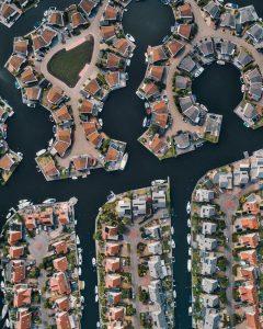 Aerial Photo of Housing Estate