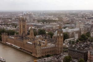 Aerial Image Big Ben London