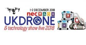 UK Drone Show 2018 Logo
