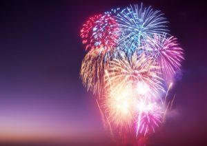 New Years Firework Display