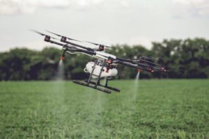 Agriculture Drone Spraying