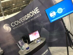 Coverdrone at the Photography Show 2021