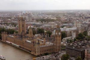 Aerial Image Big Ben London