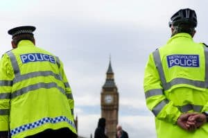 Two Police Officers In London
