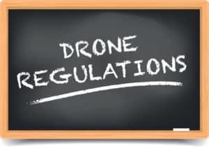 lackboard Drone Regulations