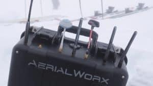 AerialWorx Equipment in Snow