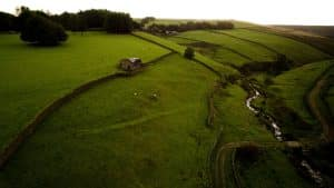 Aerial Photo of Countryside