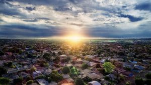 Aerial Image of Housing Estate