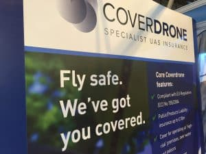 Coverdrone Exhibition Stand