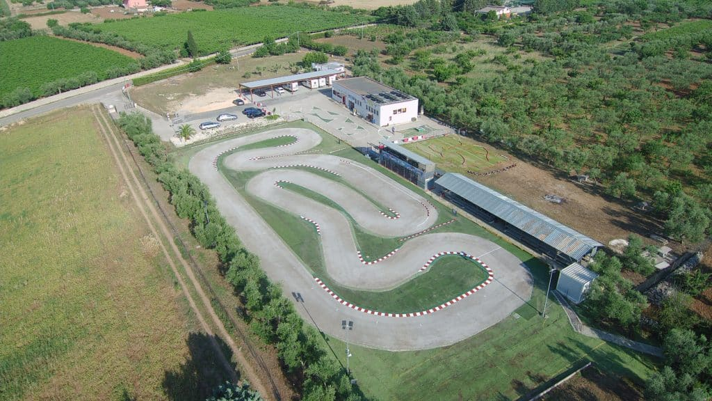 PDM course car track