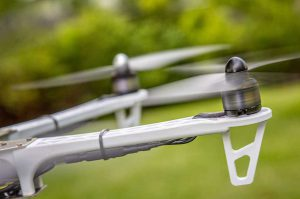 Close Up Of Drone Rotor