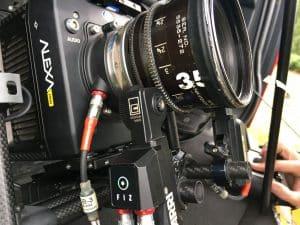 Close up of Camera Lense