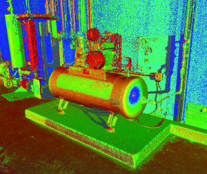 Thermal Image of Equipment