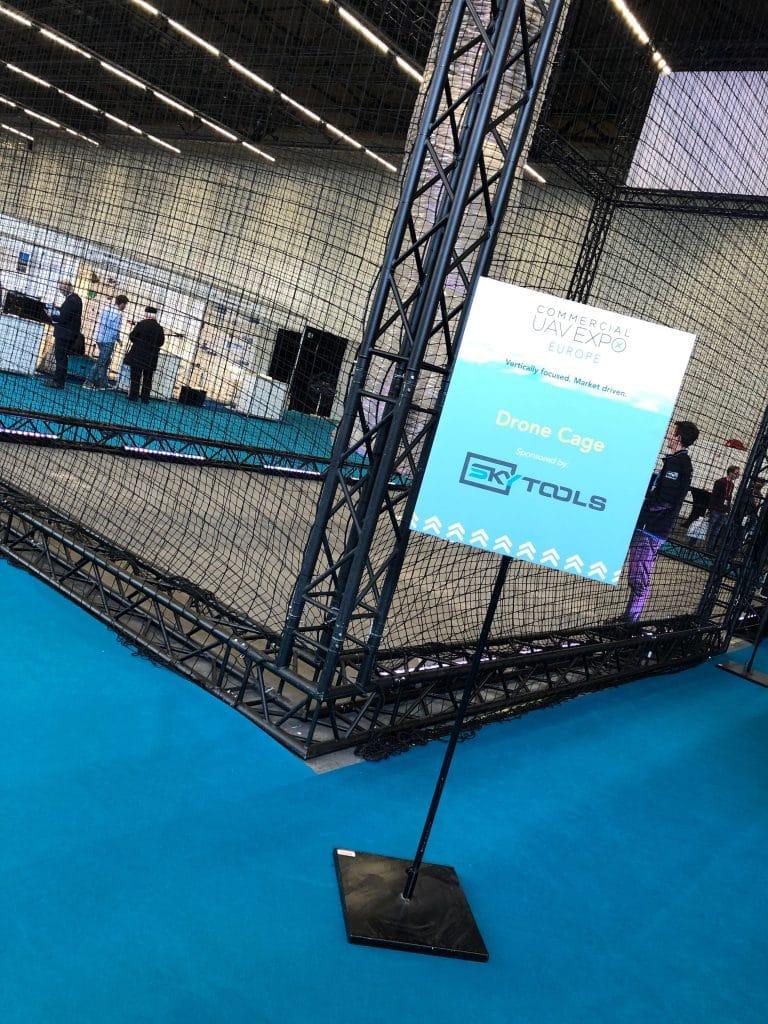 SkyTools Drone Cage UAV Expo