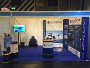 Coverdrone Stand UK Drone Show