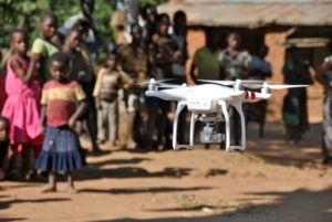 Drone In African School