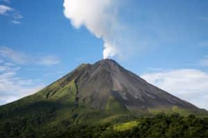 Drones Monitor Volcano