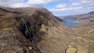 Eas a Chaul Aluinn Britains Highest Waterfall