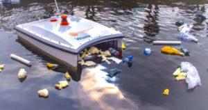 WaterShark Floating Drone