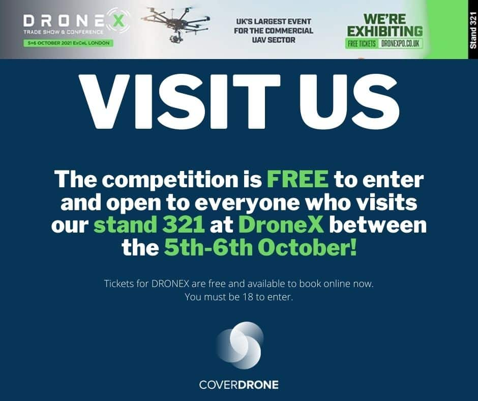 Visit Coverdrone at Drone X