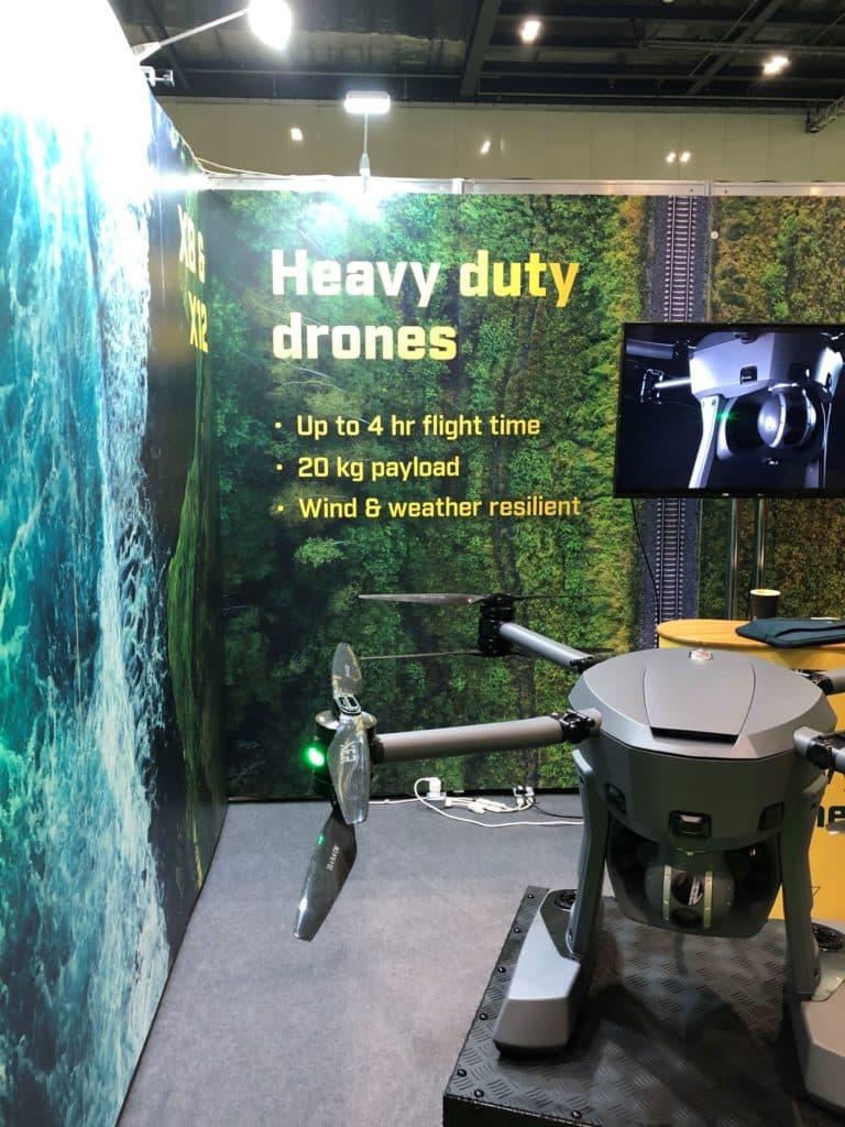 Swedish Heavy Lift XER drone